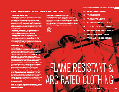 flame resistant & ARC rated clothing