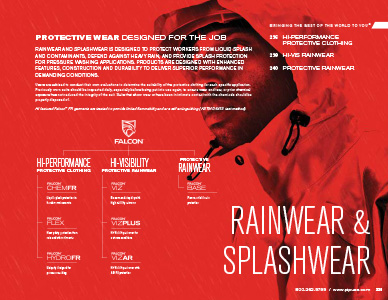 Rainwear and Splashwear