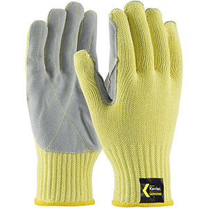 Kevlar Gloves with Leather Palms