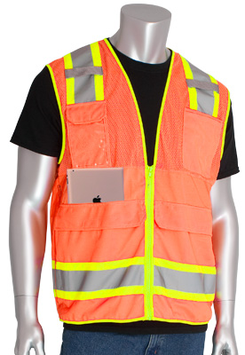 surveyors hi-vis vest